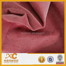 dyed corduroy fabric for lady long dresses