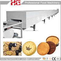 Easy machine programming industrial Oreo biscuit production line/ biscuit production line price /wafer biscuit production line