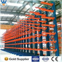Cantilever Racking for storage long pipes, construction materials/double &single side Cantilever Rack system,made in CN