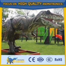 Danny and the dinosaur high quality walking Allosaurus costumes barney Electronic dinosaur Talking tree