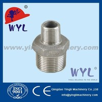 NPT Stainless Steel 316 Class 150 Cast Pipe Fitting Reducing hexagon nipple