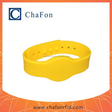 rfid festival wristband can make as lf/uh/uhf frequency widely use for attendance management
