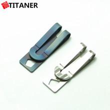 Camping titanium titanium primavera final grampo do dinheiro clipe garter belt