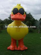 2012 hot selling inflatable duck cartoon costume K6010