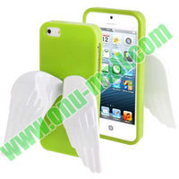 2013 Newest Cute TPU 3D Angel Wings Case for iPhone 5S & 5