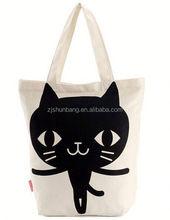 cotton bag/ eco-friendly recycle cotton bag/ popular silk printed cotton bag
