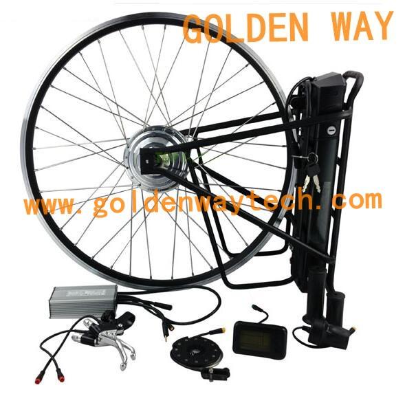 1 1 Pas Pedal Assist System Hub Motor Rear Wheel Electric Bike Kit 5000 Watt Hub Motor Buy
