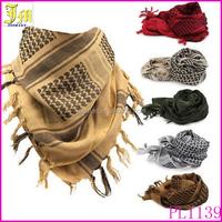 Men Women Winter Military Windproof Scarf Muslim Hijab Tactical Desert Arabic Keffiyeh Scarf Cotton Warm Scarves