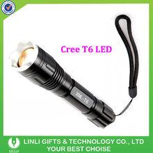 Cree T6 Aluminum Mini Police Led Torch