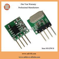 ZW18 433/315MHz 5V tiny wireless Receiver Module
