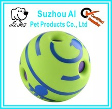 "5.5"" pet chew ball toy with funny sound"