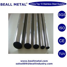 polished grade 201 304 welded tube for table leg manufacturer