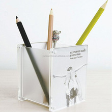 Square acrylic pen holder wholesale with available price