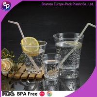 EPK New design changing color water or ice cup /ps plastic food container