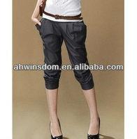 2013 KOREA NEW FASHION DESGIN CAUSAL HAREM PANTS FOR WOMEN