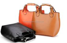lady women pu leather handbag alibaba,fashion waterproof mk bag china ,wholesale designer shopping tote bag