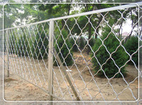 diamond wire mesh fence/ chain link fencing/galvanized chain link fence