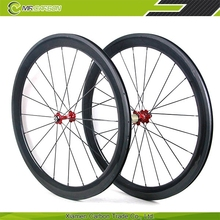 Lightweight clincher 60mm carbon wheel 700c full carbon fiber wheelset for sale