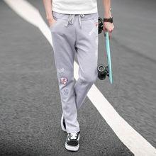 Men's casual pants fashion printed sports pants fashion city