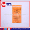 High Quatity sterile plastic bags medical yellow biohazard bag with low price