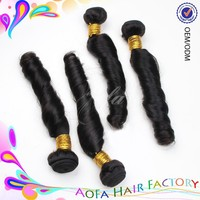 New arrival star hair style 100% unprocessed wholesale cheap virgin hair bundle