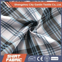 polyester cotton yarn dyed shirting fabric cotton
