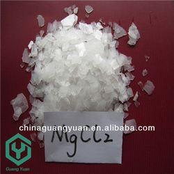 magnesium chloride manufacturers / White Flakes 46% Magnesium Chloride