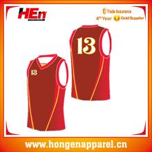 Hongen apparel USA team wear custom design basketball league basketball uniform/wear /clothing