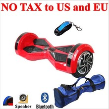 2016 Newest Cheap 8 Inch 350W*2 Drifting Hoverboard Smart Self Balancing Electric with LED Bluetooth Speaker