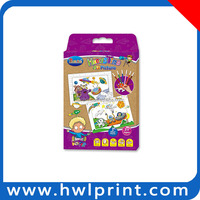 custom kids toy paper material handmade educational toy to kids