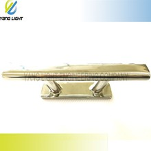 Made in Taiwan High Quality Marine 6 inch Mirror Polished stainless steel herreshoff cleat