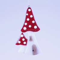 2015 new style Mushroom house Christmas decoration