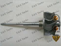 Shaft and Wheel turbine wheel GTB22VK 758351 765985 for 730D/530D/X5 fit turbos 758351-3 / 5 / 9 / 13 765985-0008 765985-0010