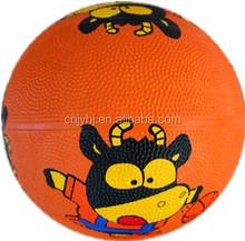 Alibaba china hotsell all size brilliant rubber basketball