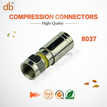 Factory supply f connector rg 6 with competitive price