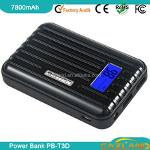 hot selling in america market 7800mah power bank of mobile phone acces/portable power bank& for laptop