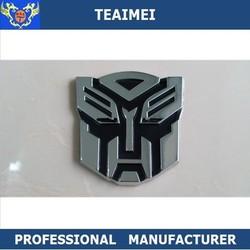 Autobot decal stickers ABS plastic chrome car badge emblem for car decoration