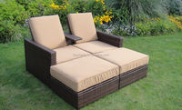 China Factory Main Products garden classics outdoor furniture OEM Design Costco Rattan Outdoor Furniture