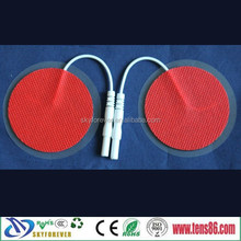 Hot!!!!!!5X5cm Adhesive electrode pad round shape