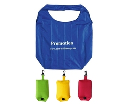 2015 cheap 190T nylon foldable shopping bag with low price