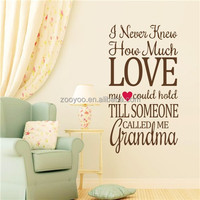 2014 vinyl8423New Removable Wall Stickers heart design love home art arts and craft