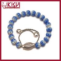 jewel silver 925 leather bracelet closure Low price with CE certificate