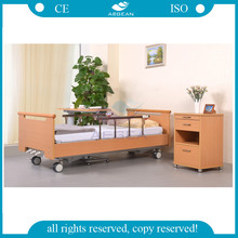 AG-WS001 new design wooden type Three Crank manual homelike medical Home Furniture