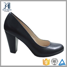 Factory price cheap ladies leather shoes heels