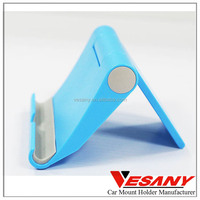 "Unique Design High Quality Colorful Folded-up Mini Plastic Desk Holder For 7"" Ipad"
