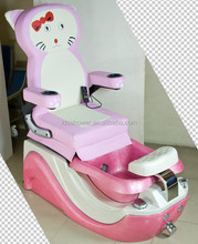 Kids foot spa massage chair made in China / spa chair pedicure