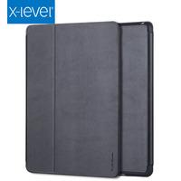 Newest folding flip stand tpu pu leather cover for ipad mini 4 case