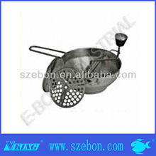 Stainless steel adjustable mixing bowl