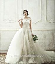 gasa blanca de encaje primicia vestido de fiesta de bodas hijab cuello
