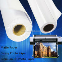 Wholesale Large Format Matte Inkjet Photo Printing Paper, 128gsm